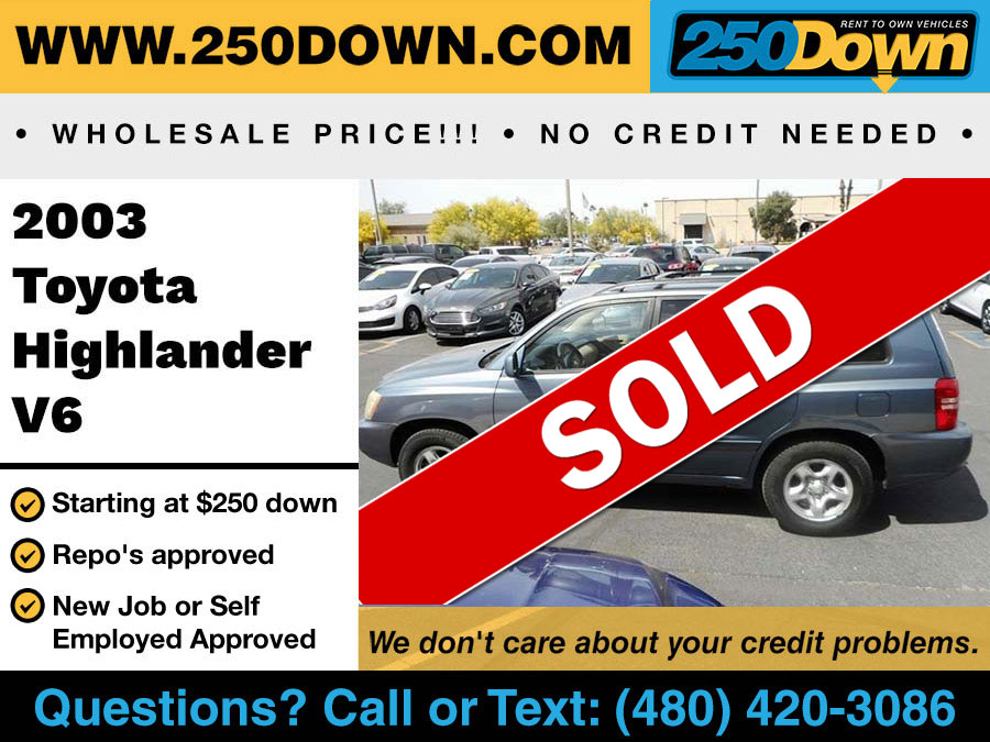 2009 Toyota Corolla – 250 Down #1 Rent To Own Vehicles in